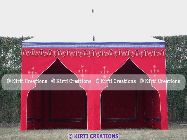 Handmade Garden Tents
