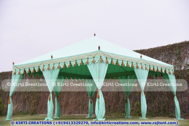 Atmospheric Pergola Tent